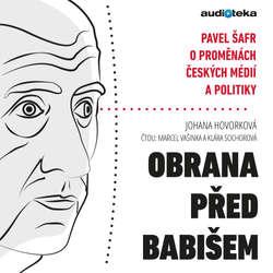 Audiokniha Obrana před Babišem - Johana Hovorková - Marcel Vašinka