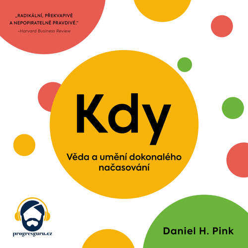 Audiokniha Kdy - Daniel H. Pink - Jiří Schwarz