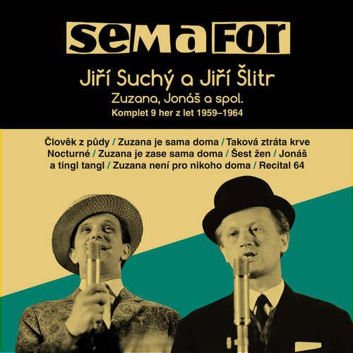 Audiokniha Semafor Komplet 9 her z let 1959-1964 - Jiří Suchý - Jiří Suchý
