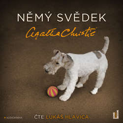 Audiokniha Němý svědek - Agatha Christie - Lukáš Hlavica