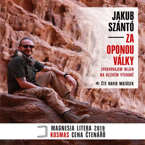 Audiokniha Za oponou války - Jakub Szántó - David Matásek