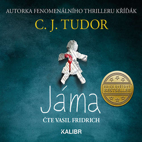 Audiokniha Jáma - C. J. Tudor - Vasil Fridrich
