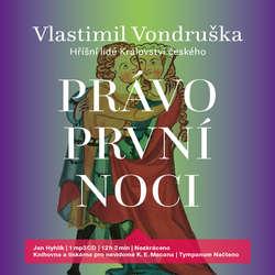 Audiokniha Právo první noci - Vlastimil Vondruška - Jan Hyhlík