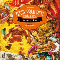 Audiokniha Nohy z jílu - Terry Pratchett - Jan Zadražil