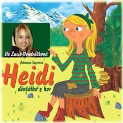 Audiokniha Heidi, děvčátko z hor - Johanna Spyriová - Lucie Vondráčková