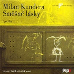 Audiokniha Směšné lásky - Milan Kundera - Igor Bareš