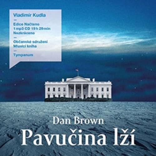 Audiokniha Pavučina lží - Dan Brown - Vladimír Kudla