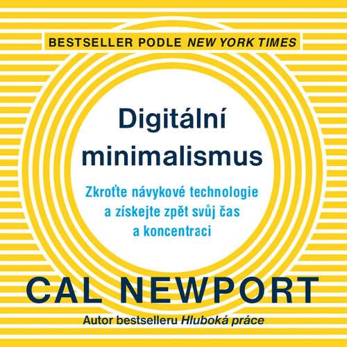 Audiokniha Digitální minimalismus - Cal Newport - Martin Veselý
