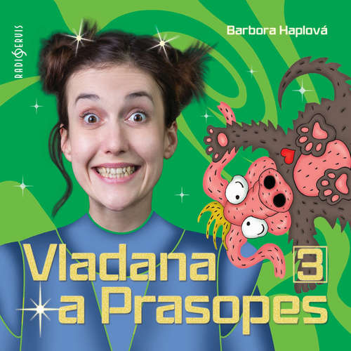 Audiokniha Vladana a Prasopes 3 - Barbora Haplová - Tereza Dočkalová