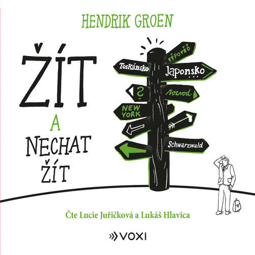 Audiokniha Žít a nechat žít - Hendrik Groen - Lucie Juřičková