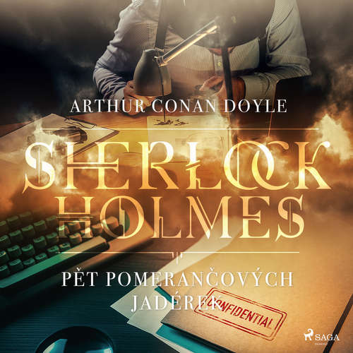 Audiokniha Pět pomerančových jadérek - Arthur Conan Doyle - Václav Knop