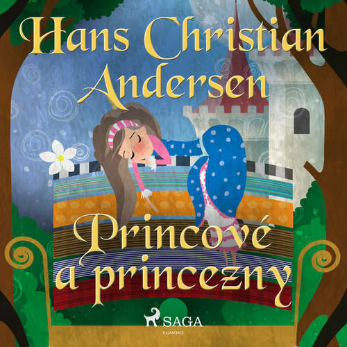 Audiokniha Princové a princezny - H.c. Andersen - Václav Knop