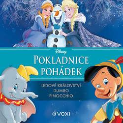 Audiokniha Disney - Ledové království, Dumbo, Pinocchio - Pavel Cmíral - Tomáš Juřička