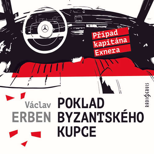 Audiokniha Poklad byzantského kupce - Václav Erben - Tomáš Jirman