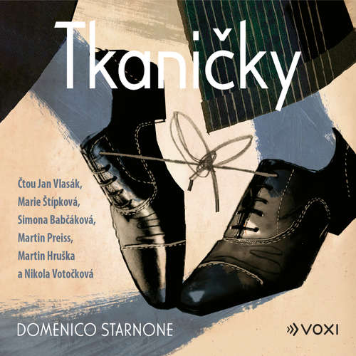 Audiokniha Tkaničky - Domenico Starnone - Jan Vlasák