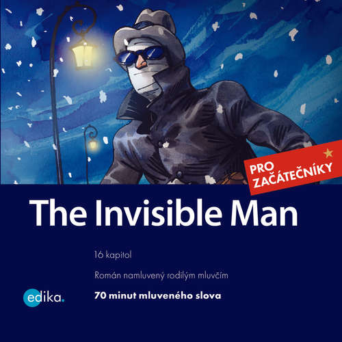Audiobook The Invisible Man (EN) - Herbert George Wells - Phil Watson