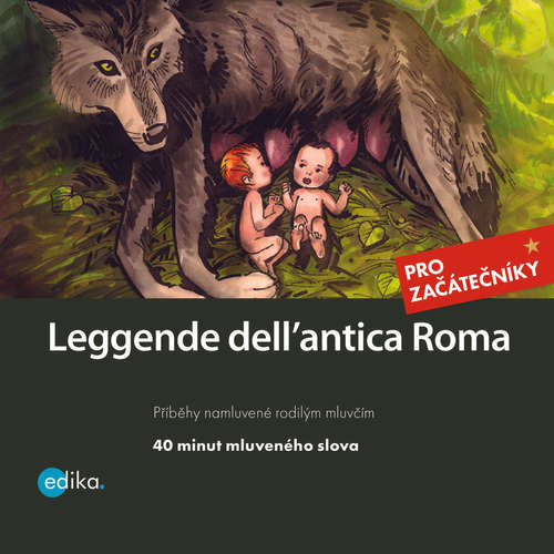 Audio libro Leggende dell´antica Roma (IT) - Valeria De Tommaso - Michele Sirtori