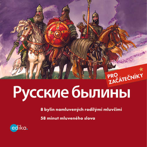 Audiokniga Russkie byliny (RUS) - Jana Hrčková - Wladimir Abramuszkin