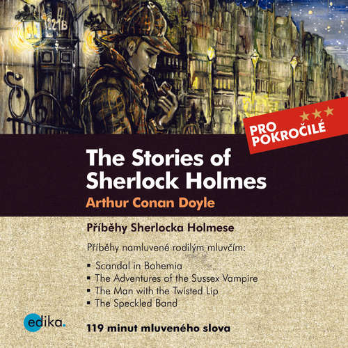 Audiobook The Stories of Sherlock Holmes (EN) - Arthur Conan Doyle - Theodore Christopher Vasilis