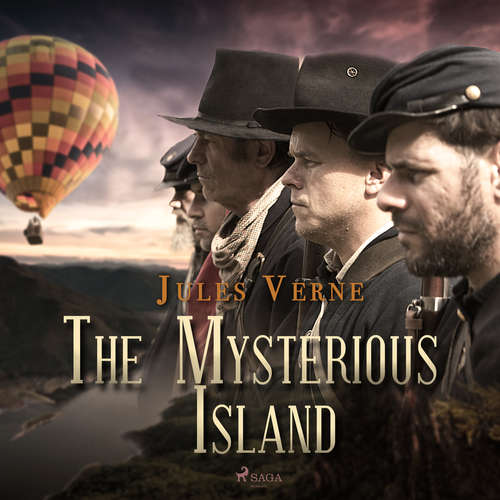 Audiobook The Mysterious Island (EN) - Jules Verne - Mark F Smith