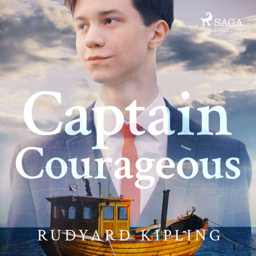 Audiobook Captain Courageous (EN) - Rudyard Kipling - Mark F Smith