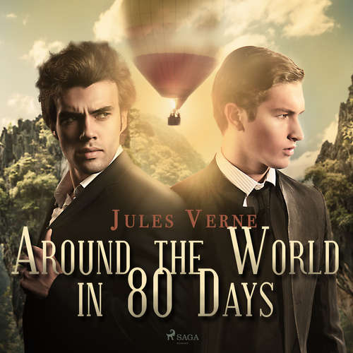 Audiobook Around the World in 80 Days (EN) - Jules Verne - Mark F Smith