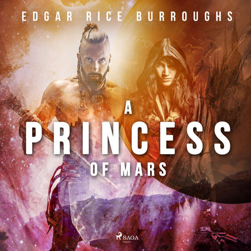 Audiobook A Princess of Mars (EN) - Edgar Rice Burroughs - Mark Nelson