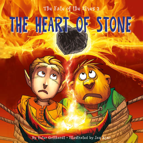 Audiobook The Fate of the Elves 2: The Heart of Stone (EN) - Peter Gotthardt - Jed Odermatt