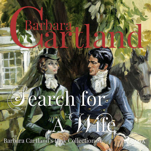 Audiobook Search for a Wife (Barbara Cartland s Pink Collection 86) (EN) - Barbara Cartland - Anthony Wren