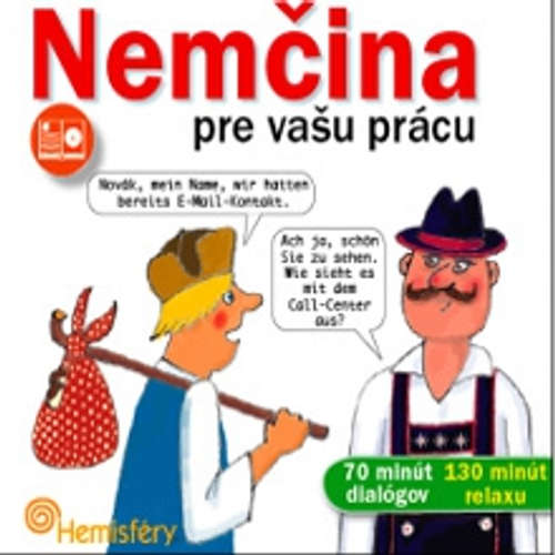 Audiokniha Nemčina pre vašu prácu - Lucie Meisnerová - Frank Riedel