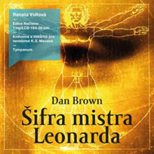 Šifra mistra Leonarda - Dan Brown (Audiokniha)