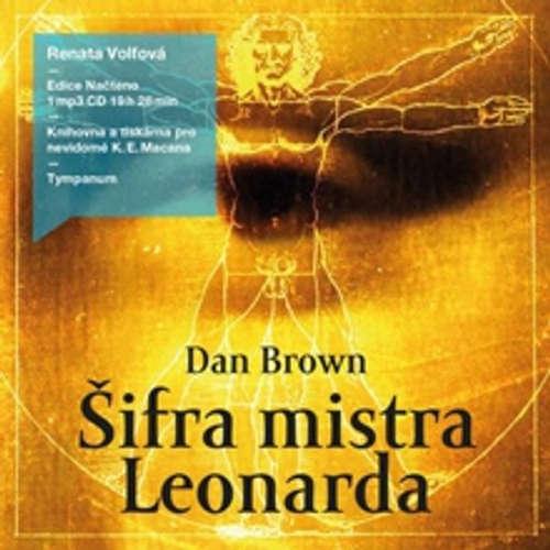 Audiokniha Šifra mistra Leonarda - Dan Brown - Renata Honzovičová Volfová