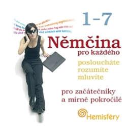 Audiokniha Němčina pro každého 1-7 - Lucie Meisnerová - Frank Riedel