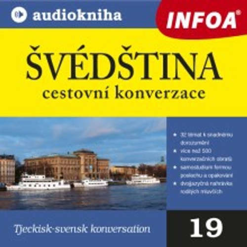 Audiokniha Švédština - cestovní konverzace - Rôzni autori - Rôzni Interpreti