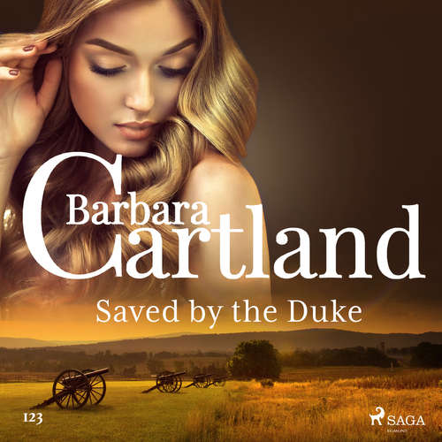 Audiobook Saved by the Duke (Barbara Cartland's Pink Collection 123) (EN) - Barbara Cartland - Anthony Wren