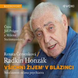 Audiokniha Všichni žijem v blázinci - Radkin Honzák - Jiří Prager