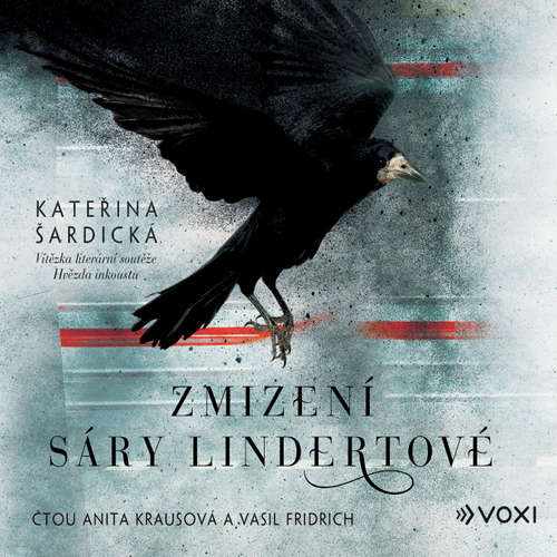 Audiokniha Zmizení Sáry Lindertové - Kateřina Šardická - Anita Krausová