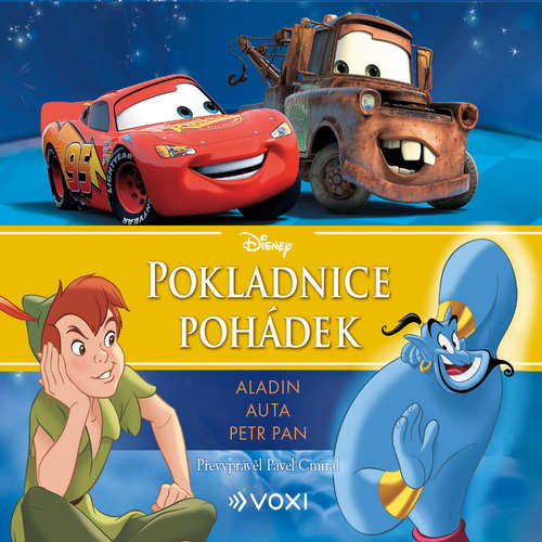 Audiokniha Disney - Aladin, Auta, Petr Pan - Pavel Cmíral - Terezie Taberyová