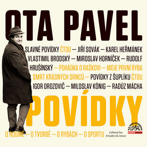 Audiokniha Povídky - Ota Pavel - Vlastimil Brodský