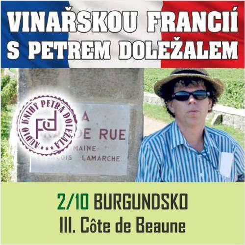 Audiokniha Vinařskou Francií s Petrem Doležalem: Burgundsko (III. Cote de Beaune) - Petr Doležal - Petr Doležal