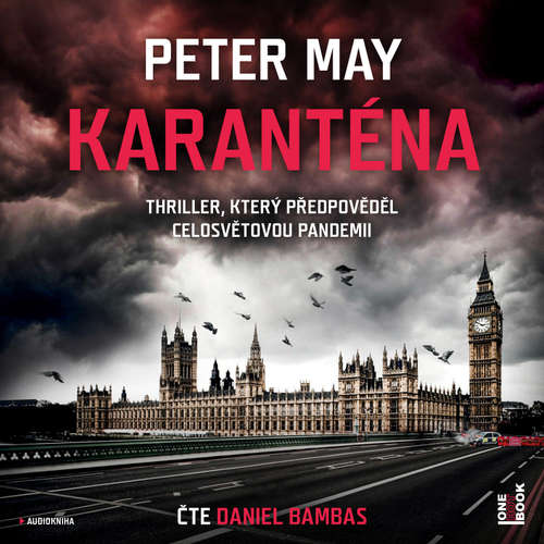 Audiokniha Karanténa - Peter May - Daniel Bambas