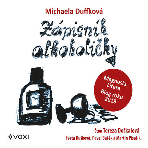 Audiokniha Zápisník alkoholičky - Michaela Duffková - Tereza Dočkalová