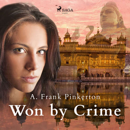 Audiobook Won by Crime (EN) - A. Frank. Pinkerton - Sibella Denton