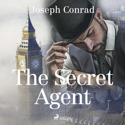 Audiobook The Secret Agent (EN) - Joseph Conrad - Cori Samuel
