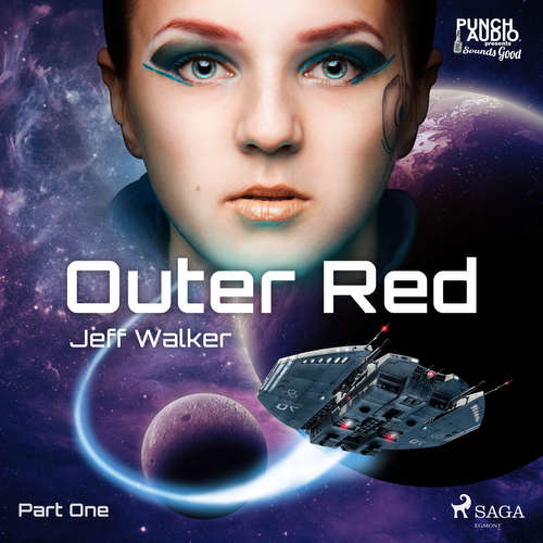 Audiobook Outer Red: Part One (EN) - Jeff Walker - Dana Dae