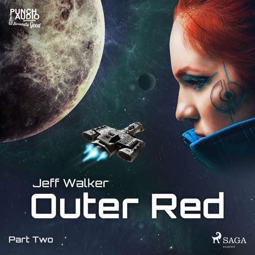 Audiobook Outer Red: Part Two (EN) - Jeff Walker - Dana Dae