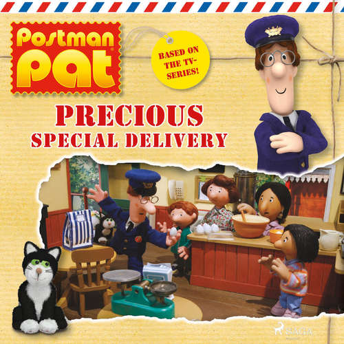 Audiobook Postman Pat - Precious Special Delivery (EN) - John A. Cunliffe - Michele Melega