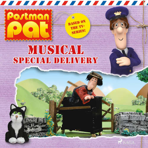 Audiobook Postman Pat - Musical Special Delivery (EN) - John A. Cunliffe - Michele Melega