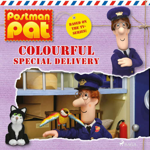 Audiobook Postman Pat - Colourful Special Delivery (EN) - John A. Cunliffe - Michele Melega