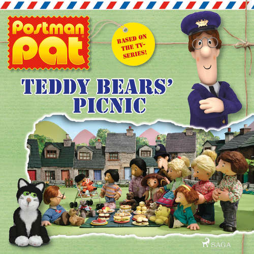 Audiobook Postman Pat - Teddy Bears' Picnic (EN) - John A. Cunliffe - Michele Melega